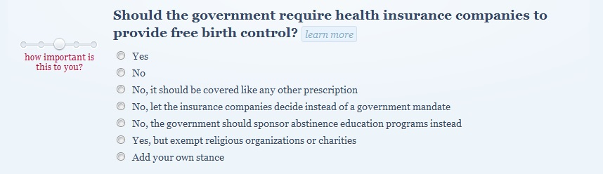 Best birth control option for me quiz